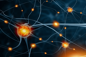 What is MS? - Image of neurons